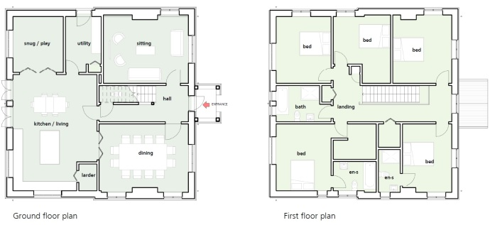 Inkpen house plan